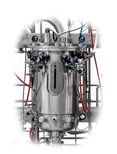 stirred cell culture bioreactor
